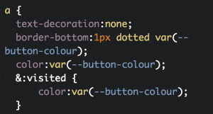 css variables in action