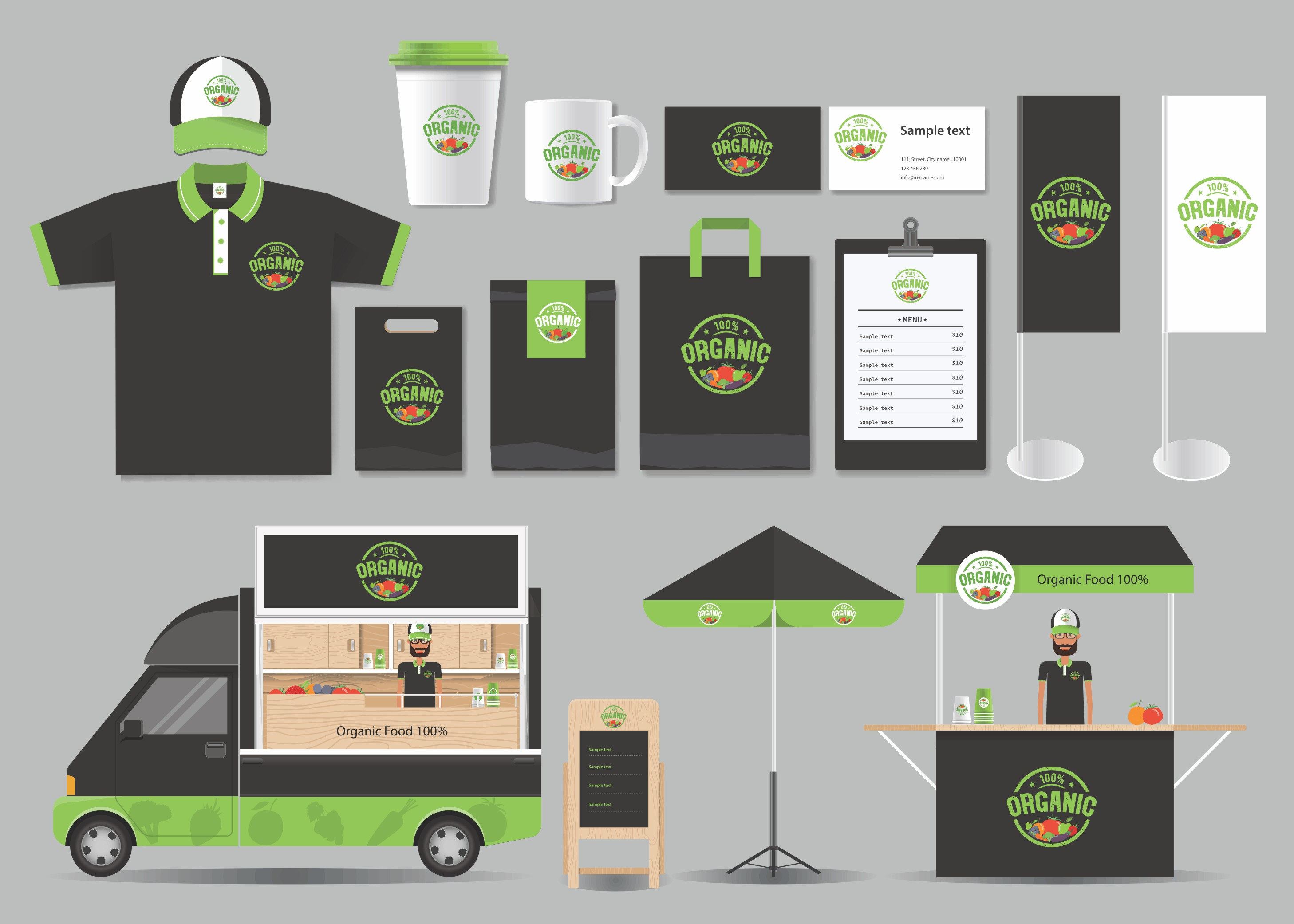 online and offline branding